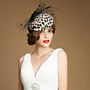 cheap Starter Tattoo Kits-Gemstone & Crystal / Wool / Tulle Fascinators / Hats / Headpiece with Crystal 1 Wedding / Special Occasion / Party / Evening Headpiece