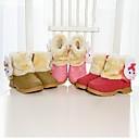 abordables Zapatos de Niña-Chica Zapatos Ante Sintético Invierno Confort Botas para Rojo / Rosa / Marrón / Botines / Hasta el Tobillo