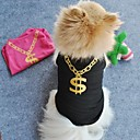 cheap Rhinestone & Decorations-Cat Dog Shirt / T-Shirt Dog Clothes Black Green Blue Pink Terylene Costume For Pets Cosplay Wedding