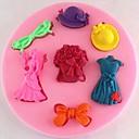hesapli Kek Kalıpları-Bakeware araçları Silikon Çevre-dostu / Kendin-Yap Kek / Kurabiye / Çikolota Pişirme Kalıp 1pc