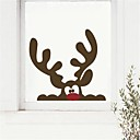 cheap Wall Stickers-Decorative Wall Stickers - Plane Wall Stickers Abstract / Christmas Decorations / Florals Living Room / Dining Room / Boys Room