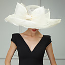 cheap Party Headpieces-Flax Kentucky Derby Hat / Hats / Headwear with Floral 1pc Wedding / Special Occasion / Casual Headpiece