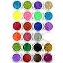 billige Negleglitter-24 pcs Glitter & Poudre / Akrylpulver / Pudder Abstrakt / Klassisk / Bryllup Smuk Daglig