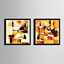ieftine Picturi Abstracte-Pânză Înrămată Set Înrămat Fantezie Wall Art, PVC Material cu Frame Pagina de decorare cadru Art Sufragerie Dormitor Bucătărie Birou