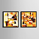 cheap Framed Arts-Framed Canvas Framed Set Fantasy Wall Art, PVC Material With Frame Home Decoration Frame Art Living Room Bedroom Kitchen Dining Room