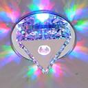 halpa Plafondit-LightMyself™ Uppoasennus Tunnelmavalo Lasi Kristalli, Minityyli, LED 90-240V Lämmin valkoinen / Kylmä valkoinen / RGB LED-valonlähde mukana / Integroitu LED