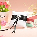 cheap Wedding Garters-Sash Satin Ring Pillow Garden Theme