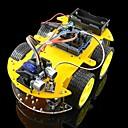 tanie Ładowarki samochodowe-Robot sterowany bluetooth zestawy samochodowe dla Arduino