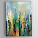 billige Oljemalerier-Håndmalte Abstrakt Vertikal,Moderne Europeisk Stil Et Panel Lerret Hang malte oljemaleri For Hjem Dekor