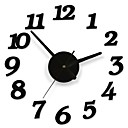 cheap DIY Wall Clocks-Modern/Contemporary Plastic Round Indoor,AA Wall Clock