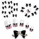 cheap Nail Glitter-Lovely nail art Manicure Pedicure Metal Classic / Cartoon / Punk Daily / Nail Jewelry