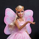 preiswerte Zubehör für Puppen-Prinzessin Kleider Für Barbie-Puppe Polyester Kleid Für Mädchen Puppe Spielzeug