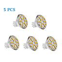 رخيصةأون أضواء LED ثنائي الدبوس-5pcs 2.5 W 200-250 lm MR11 LED ضوء سبوت 24 الخرز LED SMD 2835 أبيض دافئ / أبيض كول / أبيض طبيعي 12 V / 12-24 V / 5 قطع