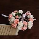 """olcso Köszönetajándékok kulcstartóra-Esküvői virágok Virágcsokrok csuklóra Esküvő Party / estély Szatén Papír 9,45"""" (Kb. 24 cm)"""