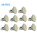 cheap Wall Stickers-3W 300-350 lm GU10 LED Spotlight 60 leds SMD 3528 Warm White Cold White AC 220-240V