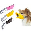 cheap Dog Collars, Harnesses & Leashes-Dog Muzzle Adjustable / Retractable Anti Bark Safety Solid Silicone Yellow Brown Pink