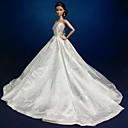 tanie Akcesoria dla lalek-Impreza/Wieczór Sukienki Dla Lalka Barbie Koronka Organza Ubierać Dla Dziewczyny Lalka Zabawka