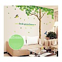 preiswerte Ferienhaustextilien-Landschaft Weihnachten Blumen Botanisch Cartoon Design Wand-Sticker Flugzeug-Wand Sticker Dekorative Wand Sticker, PVC Haus Dekoration