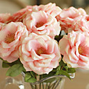 preiswerte Kunstblume-Künstliche Blumen 2 Ast Moderner Stil Rosen Tisch-Blumen