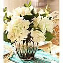 billige Veggklistremerker-Kunstige blomster 1 Gren Europeisk Stil Hortensiaer Bordblomst