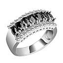 ieftine Inele la Modă-Pentru femei Band Ring - Zirconiu, Zirconiu Cubic Modă 6 / 7 / 8 Negru / Roz Pentru Nuntă / Petrecere / Zilnic