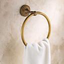 olcso Szintetikus parókák-Törülközősín Antik Sárgaréz 1 db - Hotel fürdő törölköző gyűrű