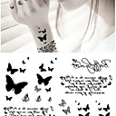 cheap Temporary Tattoos-1 pcs Tattoo Stickers Temporary Tattoos Animal Series High Definition / Eco-friendly Body Arts Face / Body / Arm