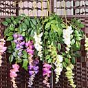 baratos Flor artificiali-Flores artificiais 3 Ramo Pastoril Estilo Orquideas Flor de Mesa