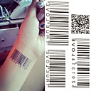 cheap Tattoo Stickers-1 Non Toxic Lower Back Waterproof Message Series Tattoo Stickers