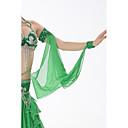 abordables Accesorios de Baile-Joyas Mujer Entrenamiento Rendimiento Raso Lentejuelas Cuentas Lentejuela
