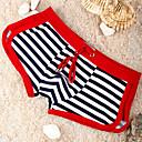 cheap Men's Bracelets-Men's Red Bottoms Swimwear - Striped M L XL