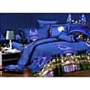 preiswerte Covers 3D Duvet-Bettbezug-Sets 3D Polyester Reaktivdruck 4 StückBedding Sets / 200