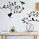 abordables Adhesivos de Pared-Animales Caricatura Botánico Pegatinas de pared Pegatinas de pared de animales Calcomanías Decorativas de Pared, Vinilo Decoración