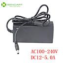 billige LED Strip Lamper-SENCART 1m / 1.5m Strømadapter LED Koblingsbar 100-240 V