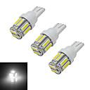 preiswerte LED Glühbirnen-210 lm T10 Lichtdekoration 10 Leds SMD 7020 Kühles Weiß DC 12V