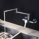 cheap Smartphone Tripods-Kitchen faucet - Contemporary Chrome Pot Filler Wall Mounted