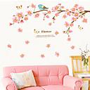 preiswerte Wand-Sticker-Tiere Romantik Blumen Wand-Sticker Flugzeug-Wand Sticker Dekorative Wand Sticker, Vinyl Haus Dekoration Wandtattoo Wand