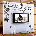 preiswerte Wand-Sticker-Blumen Cartoon Design Wand-Sticker Flugzeug-Wand Sticker Dekorative Wand Sticker, Vinyl Haus Dekoration Wandtattoo Wand