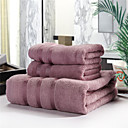 cheap Dance Accessories-Fresh Style Bath Towel Set, Embroidery Superior Quality 100% Cotton Knitted Towel