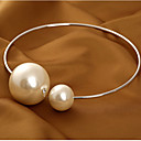 cheap Necklaces-Women's Pearl Choker Necklace / Statement Necklace / Pearl Necklace - Pearl Basic, Fashion, Bridal Gold, Silver Necklace Jewelry For Wedding, Party, Birthday / Oversized