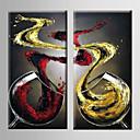 זול הדפסי בד מגולגל-ציור שמן צבוע-Hang מצויר ביד - טבע דומם מודרני בַּד