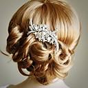 זול מודלים-חומר / סגסוגת מסרקים / אביזר לשיער עם קריסטל חתונה / Party / אירוע מיוחד כיסוי ראש