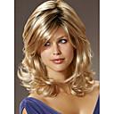 sin tapa de alta calidad a largo primeras pelucas de cabello humano mono 7 colores para elegir
