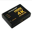 baratos TVs Box-yong wei® 4 Porta 3-em-1 4k x 2k de ultra v1.4 hd hdmi 3d