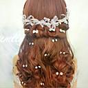 hesapli Pasta Kutuları-Kristal / Arkilik / Kumaş  -  Tiaras / Headbands / Çiçekler 1 Düğün / Özel Anlar / Parti / Gece Başlık