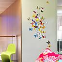 preiswerte Wand-Sticker-Tiere 3D Wand-Sticker 3D Wand Sticker Dekorative Wand Sticker Kühlschrank Sticker,Vinyl Stoff Repositionierbar Haus Dekoration Wandtattoo