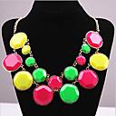 preiswerte Modische Ohrringe-Damen Halskette - Süßigkeit Erklärung, Party Blau, Dunkelrosa, Regenbogen Modische Halsketten Schmuck Für Alltag