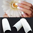 billige Rhinsten&Dekorationer-500stk Negle kunst Manicure Pedicure Plast Abstrakt / Klassisk / Bryllup Daglig