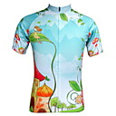 cheap Cycling Jerseys-JESOCYCLING Women's Short Sleeve Cycling Jersey Cartoon Bike Jersey, Quick Dry, Ultraviolet Resistant, Breathable
