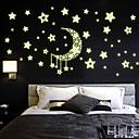 ieftine Acțibilde de Perete-Autocolante de Perete Decorative - Autocolante perete luminoase Natură moartă Romantic Modă Sufragerie Dormitor Baie